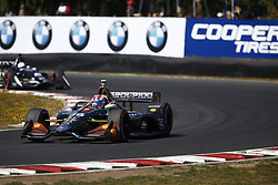 September 2, 2018 - Portland, Oregon, United Stated - ZACH VEACH (26) of the United Stated battles for position during the Portland International Raceway at Portland International Raceway in Portland, Oregon. (Credit Image: © Justin R. Noe Asp Inc/ASP via ZUMA Wire)