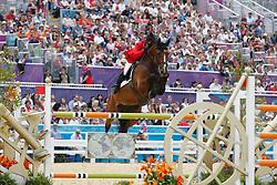Michan Halbinger Alberto (MEX) - Rosalie La Silla<br /> Olympic Games London 2012<br /> © Dirk Caremans