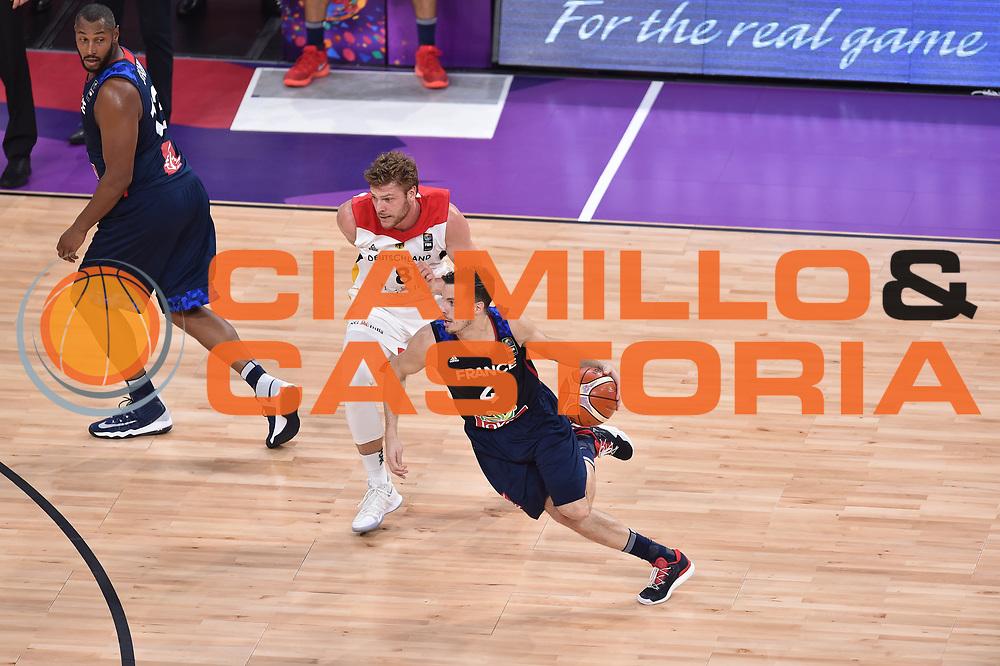 Thomas Heurtel<br /> Eurobasket 2017 <br /> Francia - Germania<br /> Istambul, 09/09/2017<br /> Foto Ciamillo - Castoria/ M.Longo