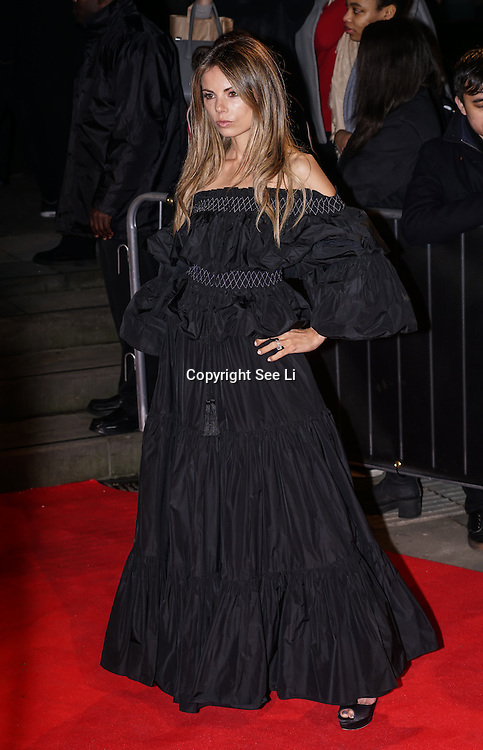 London,England,UK. 21th Fen 2017. Erica Pelosini  attends London Fabulous Fund Fair hosted by Natalia Vodianova and Karlie Kloss in support of The Naked Heart Foundation on February 21, 2017 at The Roundhouse in London, England.,UK. by See Li