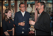 CAMILLE ORMANDY; STEVE ORMANDY; BRIAN PARKES, Dinosaur Designs launch of their first European store in London. 35 Gt. Windmill St. 18 September 2014