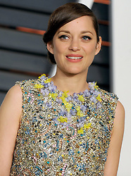 Marion Cotillard in attendance for 2015 Vanity Fair Oscar Party Hosted By Graydon Carter at Wallis Annenberg Center for the Performing Arts on February 22, 2015 in Beverly Hills, California. EXPA Pictures © 2015, PhotoCredit: EXPA/ Photoshot/ Dennis Van Tine<br /> <br /> *****ATTENTION - for AUT, SLO, CRO, SRB, BIH, MAZ only*****