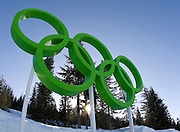 Olympic Rings, Whistler National Park, British Columbia, Canada