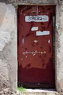 Door in Puerto Padre, Las Tunas, Cuba.