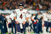 Chase Daniel (QB) of the Chicago Bears during the International Series match between Oakland Raiders and Chicago Bears at Tottenham Hotspur Stadium, London, United Kingdom on 6 October 2019.
