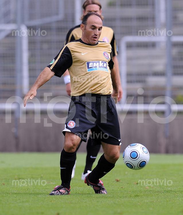 FUSSBALL     3. BUNDESLIGA     SAISON 2009/2010     29.08.2009 6. Spieltag : FC Bayern MuenchenII - Wuppertaler SV Borussia Fatmir Fata (Wuppertal)