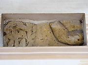 Kloster Lorsch, Königshalle, innen, UNESCO Weltkulturerbe, Hessen, Deutschland | Lorsch Abbey, King's Hall, interior, a UNESCO World Heritage Site, Hessen, Germany