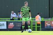Forest Green Rovers Liam Kitching(20) on the ball during the EFL Sky Bet League 2 match between Forest Green Rovers and Colchester United at the New Lawn, Forest Green, United Kingdom on 14 September 2019.