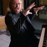 HOLD FOR STORY. Barry Gibb poses for a portrait session at the Capitol Studios on Friday, Feb. 18, 2017, in Los Angeles. (Photo by Willy Sanjuan/Invision/AP)