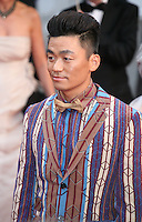 Wang Baoqiang attending the gala screening of The Great Gatsby at the Cannes Film Festival on 15th May 2013, Cannes, France.