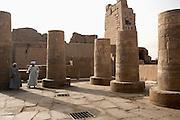 Men at The Temple of Kom Ombo, Kom Ombo, Egypt