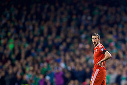 DUBLIN, REPUBLIC OF IRELAND - Friday, March 24, 2017: Wales' Gareth Bale looks dejected after missing a chance against Republic of Ireland during the 2018 FIFA World Cup Qualifying Group D match at the Aviva Stadium. (Pic by David Rawcliffe/Propaganda)