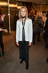 VICTORIA MILLIGAN who lost her husband, daughter and a leg in a speedboat accident at a ladies lunch in aid of the charity Child Bereavement UK held at The Bulgari Hotel, 171 Knightsbridge, London on 25th February 2016.