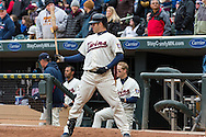 Joe Mauer #7 of the Minnesota Twins waits on-deck during a game against the New York Mets on April 13, 2013 at Target Field in Minneapolis, Minnesota.  The Mets defeated the Twins 4 to 2.  Photo: Ben Krause