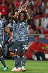 September 19, 2018 - Lisbon, Portugal - Bayern Munich's midfielder Renato Sanches from Portugal  (35) celebrates after scoring during the UEFA Champions League Group E football match SL Benfica vs Bayern Munich at the Luz stadium in Lisbon, Portugal on September 19, 2018. (Credit Image: © Pedro Fiuza/ZUMA Wire)