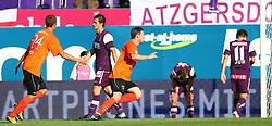 29.08.2010, Horr Stadion, Wien, AUT, 1. FBL, FK Austria Wien vs FC Wacker Innsbruck, im Bild Torjubel von Innsbruck,  EXPA Pictures © 2010, PhotoCredit: EXPA/ T. Haumer