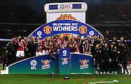 EFL Cup Final: Southampton v Man Utd 26 Feb 2017