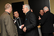 The opening reception and dinner of the Pontifical Mission Societies in the United States 2010 National Meeting is hosted at the Double Tree Magnificent Mile Hotel in Chicago, Il.