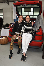 Left to right, Tiphaine De Lussy and Daniela Agnelli at the #SheInspiesMe Car Boot Sale in aid of Women for Women International held Brewer Street Car Park, Soho, London England. 6 May 2017.<br /> Photo by Dominic O'Neill/SilverHub 0203 174 1069 sales@silverhubmedia.com