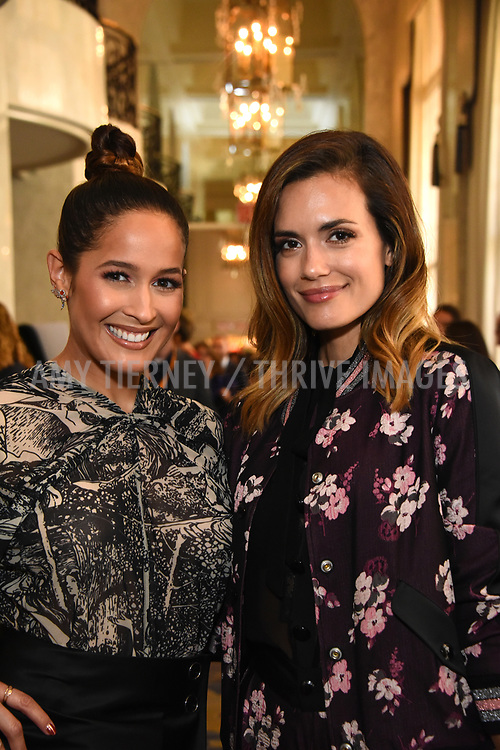 Jane Lee Ortiz and Torrey DeVitto