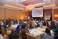 Breakfast and Opening Keynote, Justin Labored, The New Look of Less, From My Burden to My Choice at Wyoming Governor's Hospitality and Tourism Conference.