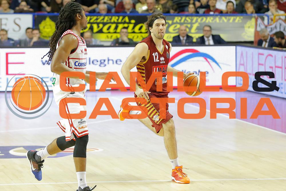 Ariel Filloy<br /> Umana Reyer Venezia - Consultinvest Pesaro<br /> Lega Basket Serie A 2016/2017<br /> Venezia 05/03/2017<br /> Foto Ciamillo-Castoria