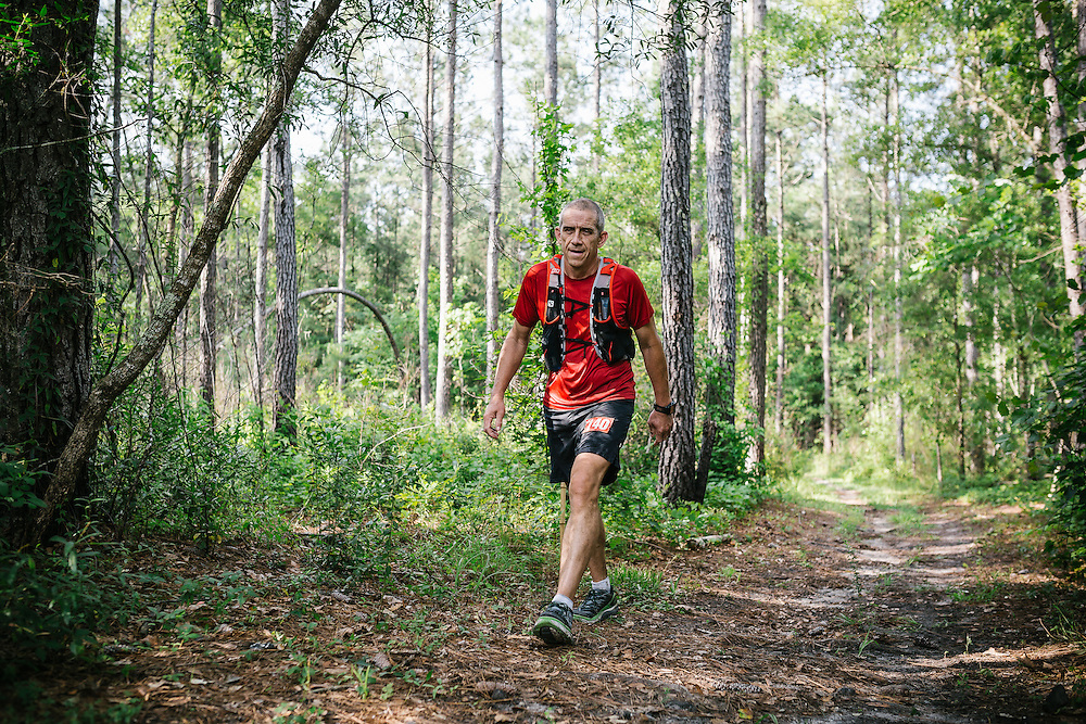 Images from the 2015 Hell Hole Hundred Ultramarathon on the Jericho Horse Trail in the Francis Marion National Forest near Charleston, South Carolina.