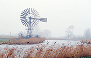 watermill on the river