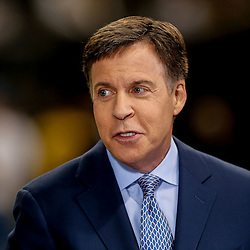 Oct 26, 2014; New Orleans, LA, USA; NBC commentator Bob Costas before a game between the New Orleans Saints and the Green Bay Packers at the Mercedes-Benz Superdome. Mandatory Credit: Derick E. Hingle-USA TODAY Sports