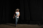 "DALLAS, TX - MARCH 13:  Donald ""Cowboy"" Cerrone walks on stage during the UFC 185 weigh-ins at the Kay Bailey Hutchison Convention Center on March 13, 2015 in Dallas, Texas. (Photo by Cooper Neill/Zuffa LLC/Zuffa LLC via Getty Images) *** Local Caption *** Donald Cerrone"
