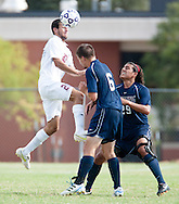August 27, 2011: The Sterling College Warriors play against the Oklahoma Christian University Eagles on the campus of Oklahoma Christian University.