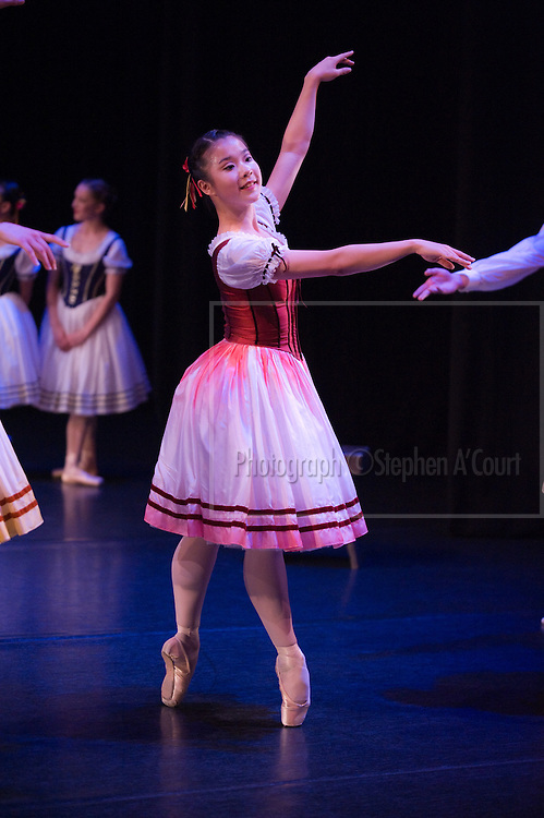 Coverage of the Graduation Season 2011 performances by the New Zealand School of Dance. Napoli Divertissements, choreography by August Bournonville, staged by Eva Kloborg and Frank Andersen.