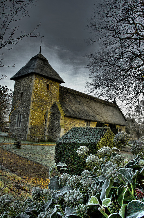 Thornham thatched church