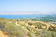 Israel, Lower Galilees, View of the Sea of Galilee