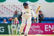 Ian Holland of Hampshire batting during the Specsavers County Champ Div 1 match between Surrey County Cricket Club and Hampshire County Cricket Club at the Kia Oval, Kennington, United Kingdom on 18 August 2019.