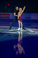 KELOWNA, BC - OCTOBER 24:  Pairs competitors Alexa Scimeca Knierim and Chris Knierim of the United States perform during the gala of Skate Canada International at Prospera Place on October 24, 2019 in Kelowna, Canada. (Photo by Marissa Baecker/Shoot the Breeze)