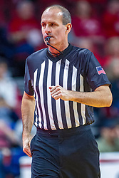 NORMAL, IL - November 29: John Hampton during a college basketball game between the ISU Redbirds and the Prairie Stars of University of Illinois Springfield (UIS) on November 29 2019 at Redbird Arena in Normal, IL. (Photo by Alan Look)