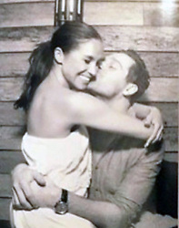 EXCLUSIVE: **NO USA TV AND NO USA WEB ** We already knew Meghan Markle had prior relationships before meeting Prince Harry -- but we didn't know just how lovey-dovey she was with her old boyfriends ... until now. Here's a photo of Meghan cozying up with her old celeb chef flame, Cory Vitiello, while they dined in Toronto. In the pic, obtained by TMZ, you see Meg sitting on Cory's lap with his arms wrapped around her waist ... and him laying a big smooch on her cheek. We're told this pic was taken at Atlas Restaurant in May 2016 -- which wasn't too long before she started seeing Harry across the pond. Remember ... Meghan and Harry reportedly began dating in the summer of '16, so something must've happened between this picturesque moment and whatever summer month Meghan got fixed up with Harry. 25 Nov 2018 Pictured: Cory Vitiello and Meghan Markle. Photo credit: TMZ/MEGA TheMegaAgency.com +1 888 505 6342