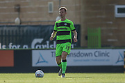 Forest Green Rovers Nathan McGinley(19) during the EFL Sky Bet League 2 match between Forest Green Rovers and Cheltenham Town at the New Lawn, Forest Green, United Kingdom on 20 October 2018.