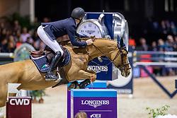 Bruynseels Niels, BEL, Ilusionata van't Meulenhof<br /> Jumping International de Bordeaux 2020<br /> © Hippo Foto - Dirk Caremans<br />  08/02/2020