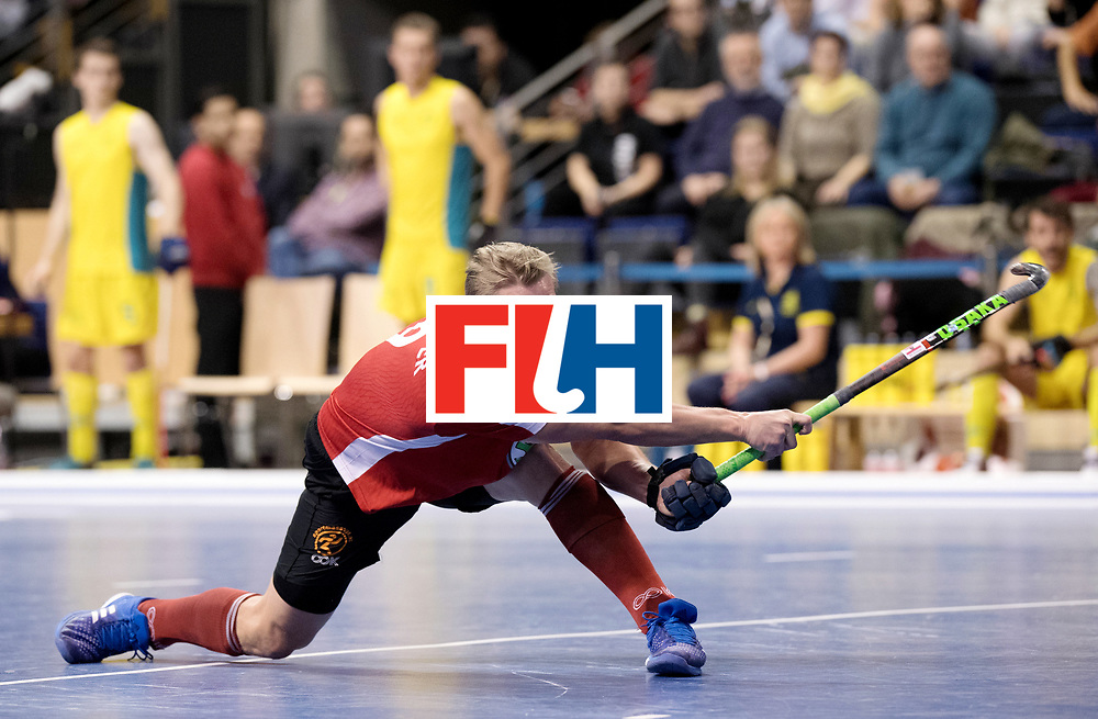 BERLIN - Indoor Hockey World Cup<br /> Semi-final 2: Australia - Austria<br /> foto: Michael K&ouml;rper.<br /> WORLDSPORTPICS COPYRIGHT FRANK UIJLENBROEK