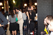 GALA GORDON; JONATHAN BARNWELL, DSquared2 Launch of their Classic collection. Tramp. Jermyn St. London. 29 June 2011. <br /> <br />  , -DO NOT ARCHIVE-© Copyright Photograph by Dafydd Jones. 248 Clapham Rd. London SW9 0PZ. Tel 0207 820 0771. www.dafjones.com.