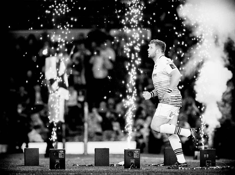 Ospreys' Scott Otten takes to the pitch<br /> <br /> Photographer Simon King/Replay Images<br /> <br /> Guinness PRO14 Round 21 - Cardiff Blues v Ospreys - Saturday 28th April 2018 - Principality Stadium - Cardiff<br /> <br /> World Copyright © Replay Images . All rights reserved. info@replayimages.co.uk - http://replayimages.co.uk