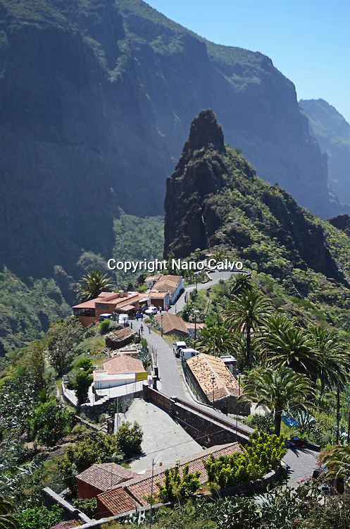 Masca Valley (Valle de Masca), Tenerife, Canary Islands