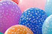 Multi color balloon bouquet
