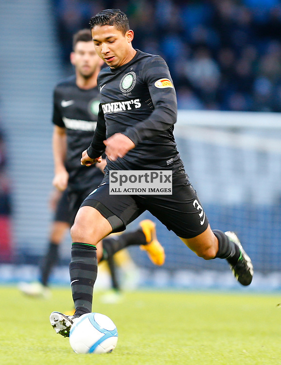 ST.MIRREN v CELTIC Scottish Communities League Cup Semi Final Hampden...Emiliio Izaguirre in action......(c) STEPHEN LAWSON | StockPix.eu