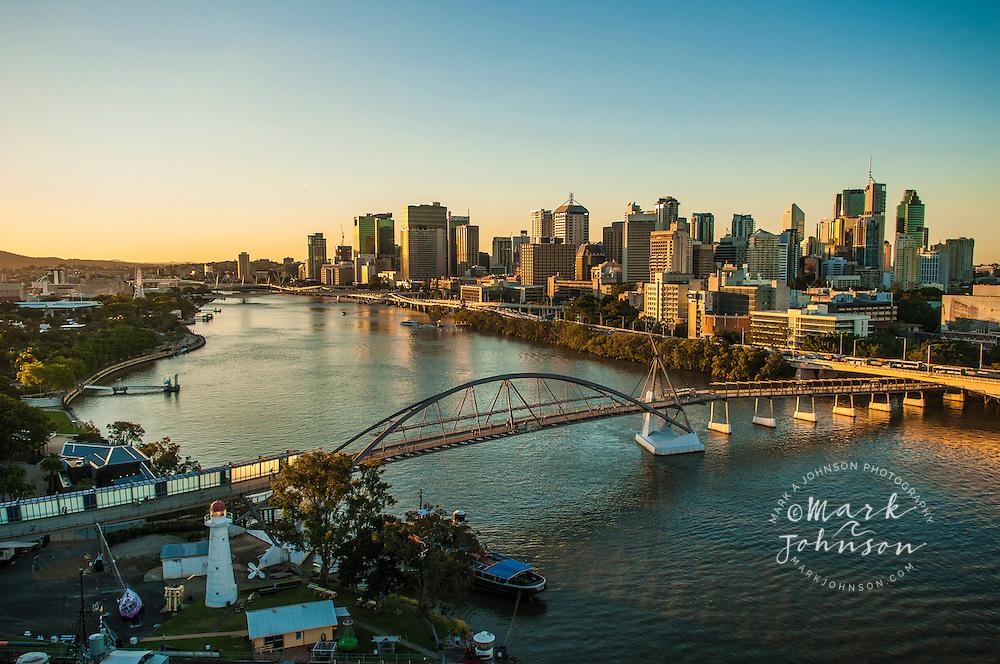 Brisbane River & City, Queensland, Australia