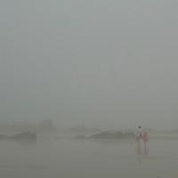EN&gt; Fog covers the beach of Saint Lunaire in Brittany, France |<br /> SP&gt; La niebla cubre la playa de Saint Lunaire en Breta&ntilde;a, Francia