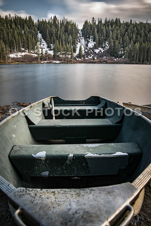 Row Boat at Twin Lakes California