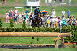 Ludwig Svennerstål (SWE) & Stinger - DHL Prize - Eventing Cross Country - CHIO Aachen 2018 - Aachen, Germany - 21 July 2018